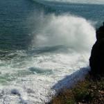 il mare era agitato e  delzioso